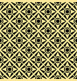 abstract art deco golden geometric seamless vector image