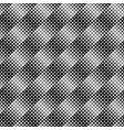 abstract monochrome seamless diagonal square vector image vector image
