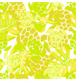 abstract pattern with turtles 2 vector image vector image