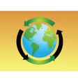 Eco World vector image vector image