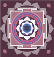 spring yantra of Saturn vector image vector image
