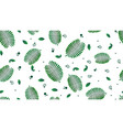 summer white seamless pattern with exotic leaves vector image