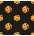 Universal basketball seamless patterns vector image