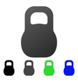 weight flat gradient icon vector image vector image