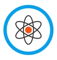 Atom Rounded Icon vector image vector image