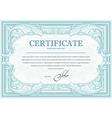 Certificate 2 vector image vector image