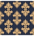 Classic French fleur-de-lis seamless pattern vector image vector image