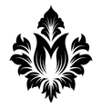 Damask Emblem vector image vector image