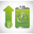 ecology and energy saving care image vector image vector image