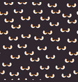 eyes dark monster halloween pattern bckg vector image