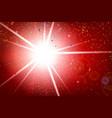 fractal rainbow ribbon explode and falling vector image vector image