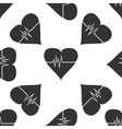 Heart Rate icon pattern vector image