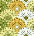 Large Chrysanthemum Pattern vector image vector image