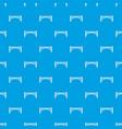 road arch bridge pattern seamless blue vector image vector image