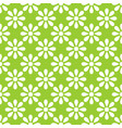 tile pattern with green and white background vector image vector image