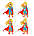 wonder girl vector image vector image