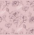 Rose pattern 2 vector image