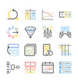 Agile icon set