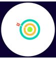 Bullseye computer symbol vector image