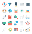Energy and Power Icons 5 vector image vector image