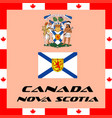 official government elements of canada - nova vector image vector image
