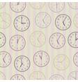 Seamless lock pattern vector image vector image