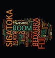 bedroom decor text background word cloud concept vector image vector image