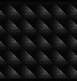 black and white geometrical seamless square vector image vector image