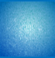 blue light mosaic abstarct background vector image