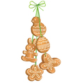 Easter biscuits vector image vector image