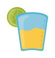 tequila and lemon cinco de mayo mexican vector image vector image