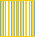 vertical yellow and blue stripes print vector image vector image