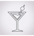 drink beverage icon vector image