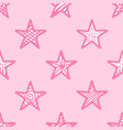 pink seamless pattern vector image vector image