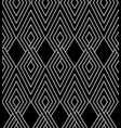 universal repeating abstract shape in black and vector image vector image