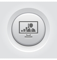Video Conference Icon Business Concept vector image vector image