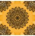 Indian Art Print Yoga Ornament kaleidoscopic vector image