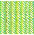 Chevron hand painted seamless pattern vector image vector image