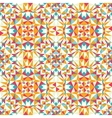 Colorful triangle texture seamless pattern vector image