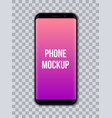 creative of mobile phone vector image vector image