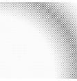 monochrome retro halftone diagonal square pattern vector image vector image