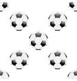 Universal football seamless patterns tiling vector image vector image