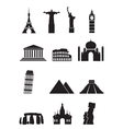 world sights vector image