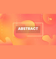 abstract background with colorful shapes vector image vector image