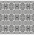 Black fantasy seamless pattern background vector image