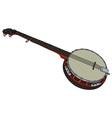 Five string banjo vector image