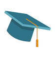 graduation hat cap vector image