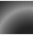 monochrome halftone square background pattern vector image vector image