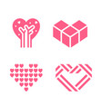 romantic icon designed for your design vector image vector image