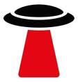 Ufo Ray Flat Icon vector image